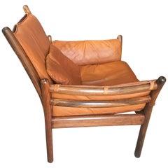 'Genius' Chair Designed by Illum Wikkelsø for CFC Silkeborg