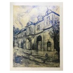 """Gentilhommiere"" Archival Print by Louis Shields"
