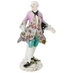 Gentleman Figurine after Kaendler, Meissen, circa 1750