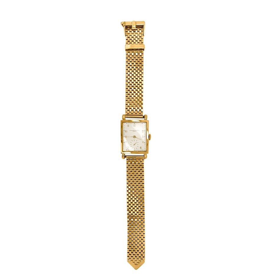 Gentlemans Gold Wristwatch, Vacheron & Constantin