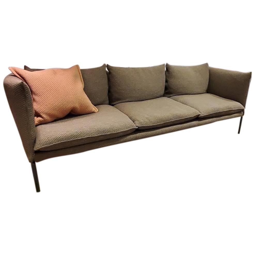 Gentry Extra Light Fabric Sofa, by Patricia Urquiola from Moroso