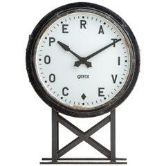 Gents Station Clock, circa 1930