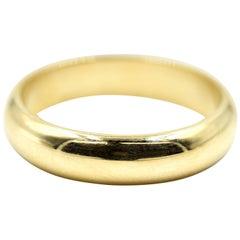 Gents Wedding Band 14 Karat Yellow Gold