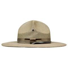 Genuine Vintage Lawman Hat Milan Campaign Sheriff Ranger Police Officer