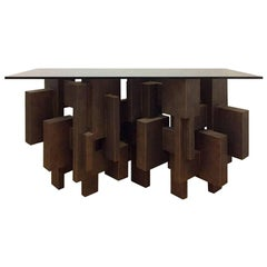 """""""Geo Console I"""" Table by Dan Schneiger"""