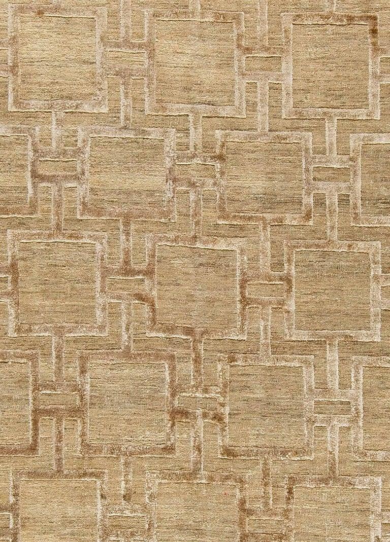 Geo Henley rug Size: 12'0