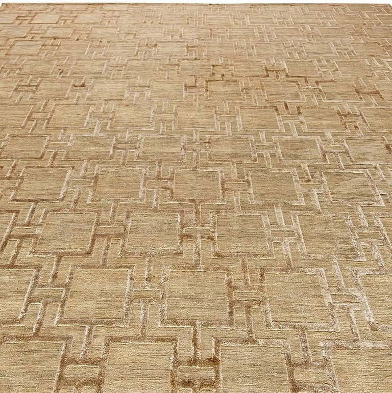 Indian Geo Henley Rug For Sale