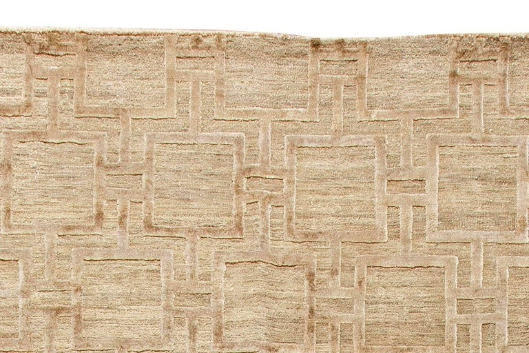 Contemporary Geo Henley Rug For Sale