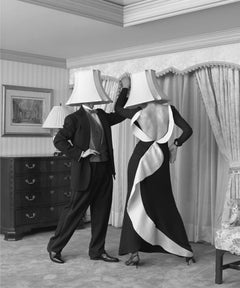 untitled (couple dancing with lampshades)