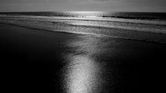 Black & White Abstract Photography by Geoffrey Baris, Seascape, Ocean, Beach