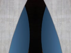 """Venice, CA"", Abstract Color Photography by Geoffrey Baris, Surfboard, Blue"