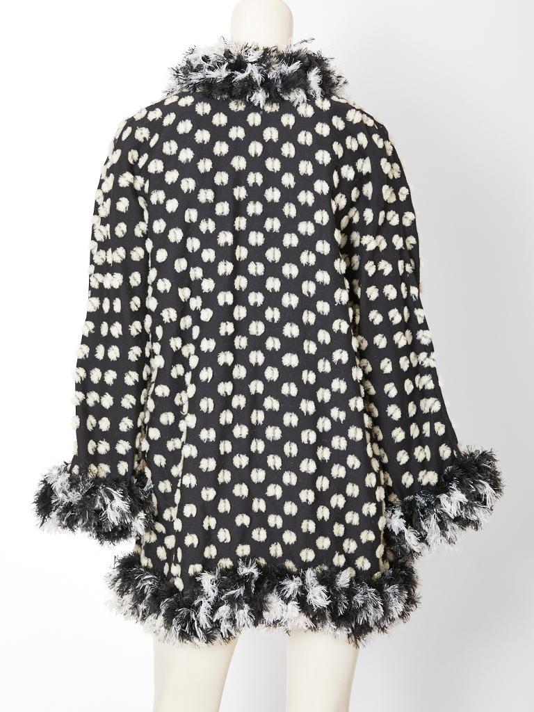 Women's Geoffrey Beene Chenille Coat For Sale