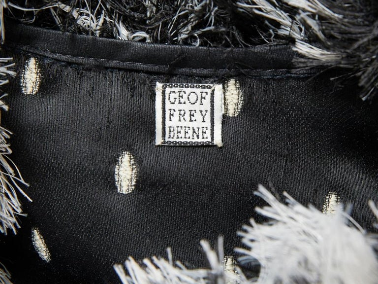 Geoffrey Beene Chenille Coat For Sale 1