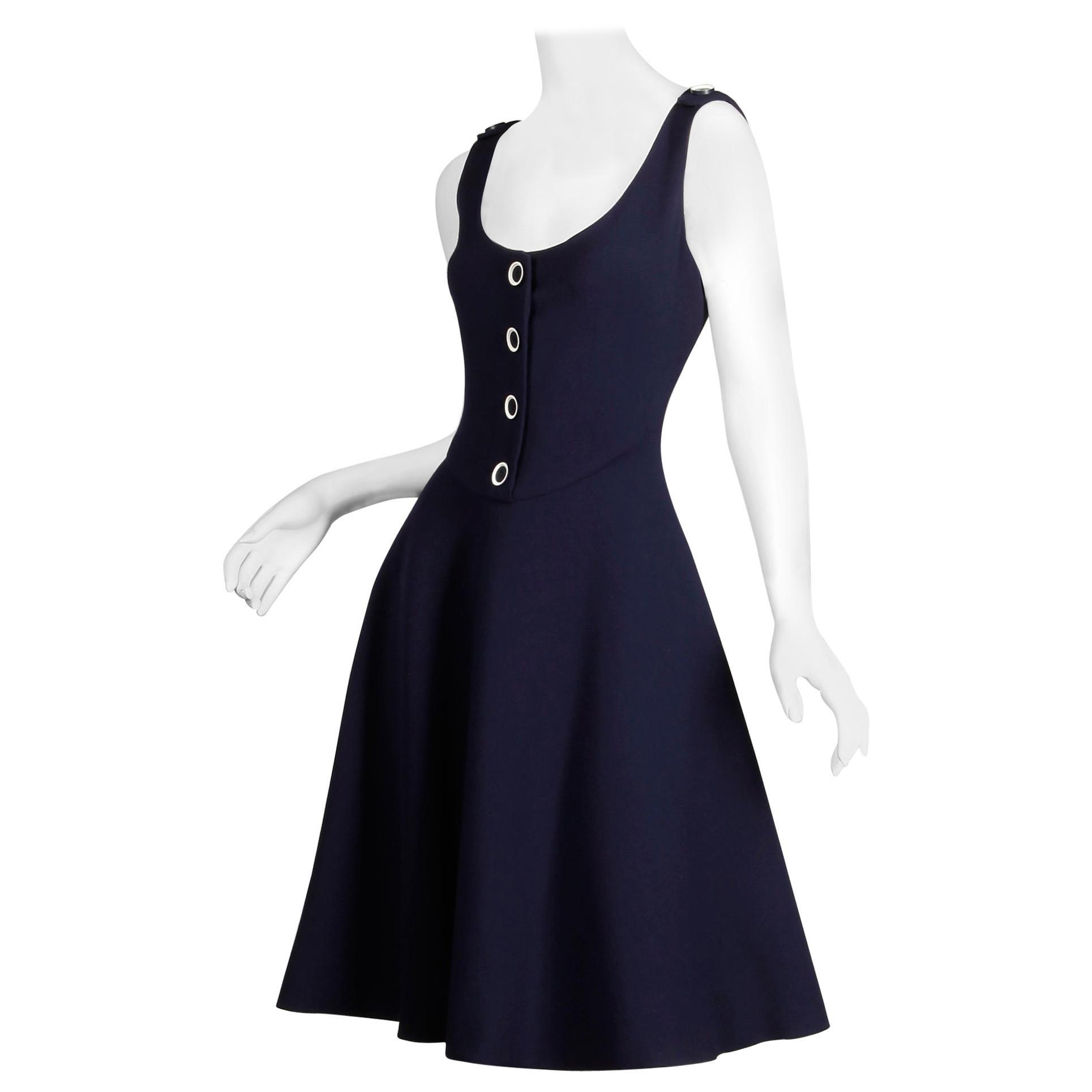 Geoffrey Beene Dress; Vintage 1960s-1970s