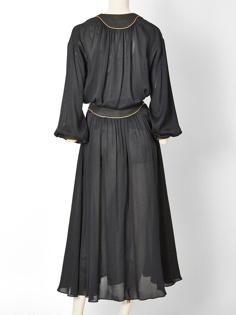 Geoffrey Beene Silk Skirt Ensemble  In Good Condition For Sale In New York, NY
