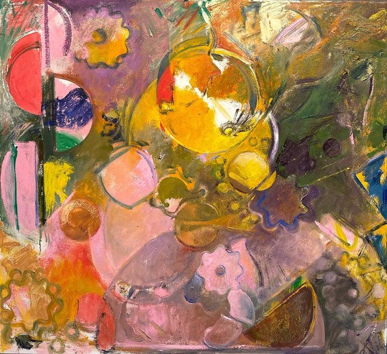 Geoffrey Dorfman Abstract Painting - Antikythera 6