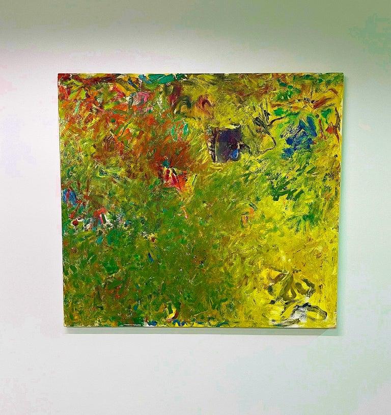 Downstream - Painting by Geoffrey Dorfman