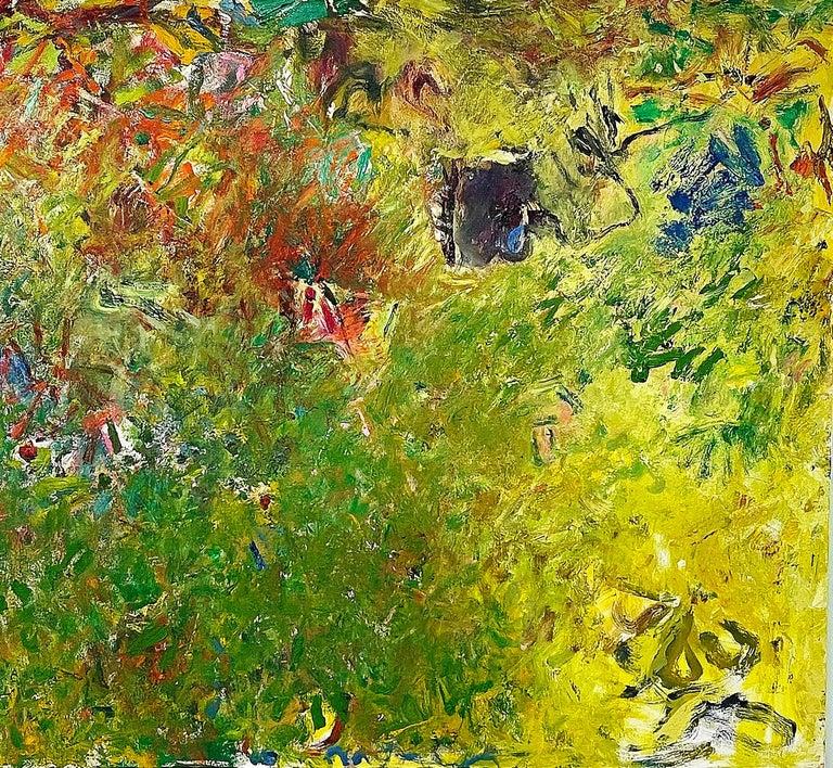 Geoffrey Dorfman Abstract Painting - Downstream