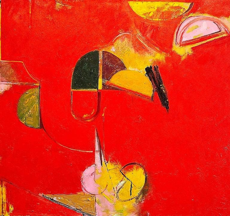 Geoffrey Dorfman Abstract Painting - Ecliptic