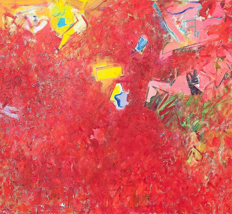 Geoffrey Dorfman Abstract Painting - Superman and Lois