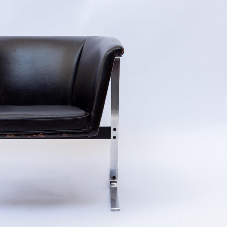 Geoffrey Harcourt Chair for Artifort, Model 042, Netherlands, 1970s In Fair Condition In AMSTERDAM, NL
