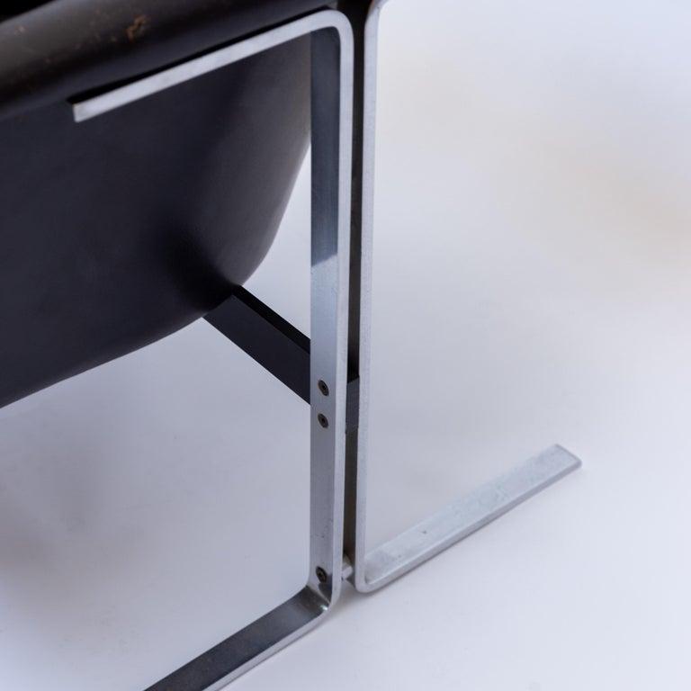 Aluminum Geoffrey Harcourt Chair for Artifort, Model 042, Netherlands, 1970s