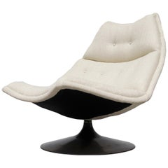 Geoffrey Harcourt 'F584' for Artifort Swivel Lounge Chair