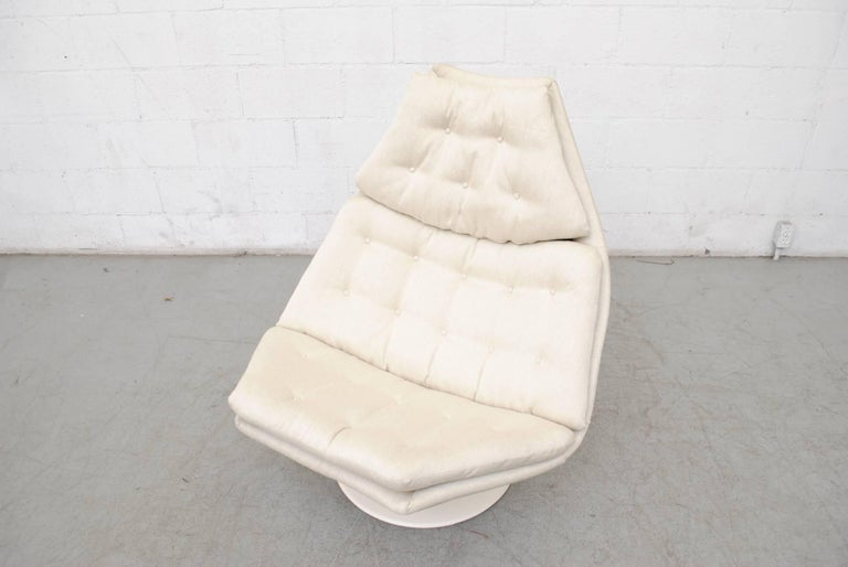 Upholstery Geoffrey Harcourt F588 Lounge Chair for Artifort with Ottoman For Sale