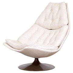Geoffrey Harcourt 'F588' Swivel Lounge Chair