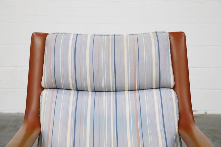 Geoffrey Harcourt for Artifort Model #F-140 Swivel Lounge Armchair, circa 1970s For Sale 3