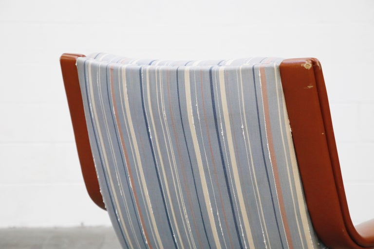 Geoffrey Harcourt for Artifort Model #F-140 Swivel Lounge Armchair, circa 1970s For Sale 12
