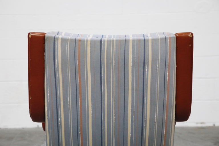 Geoffrey Harcourt for Artifort Model #F-140 Swivel Lounge Armchair, circa 1970s For Sale 13