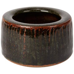 Geoffrey Whiting Tenmoku Studio Pottery Bowl, 20th Century