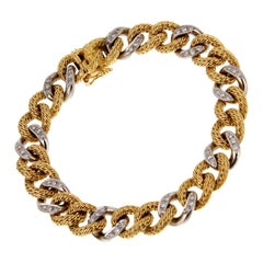 Geoges Lenfant for Piaget Diamond Gold Bracelet