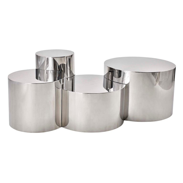 Gaspare Asaro Geometria: Cerchi #4 coffee table, new, offered by Gaspare Asaro – Italian Modern