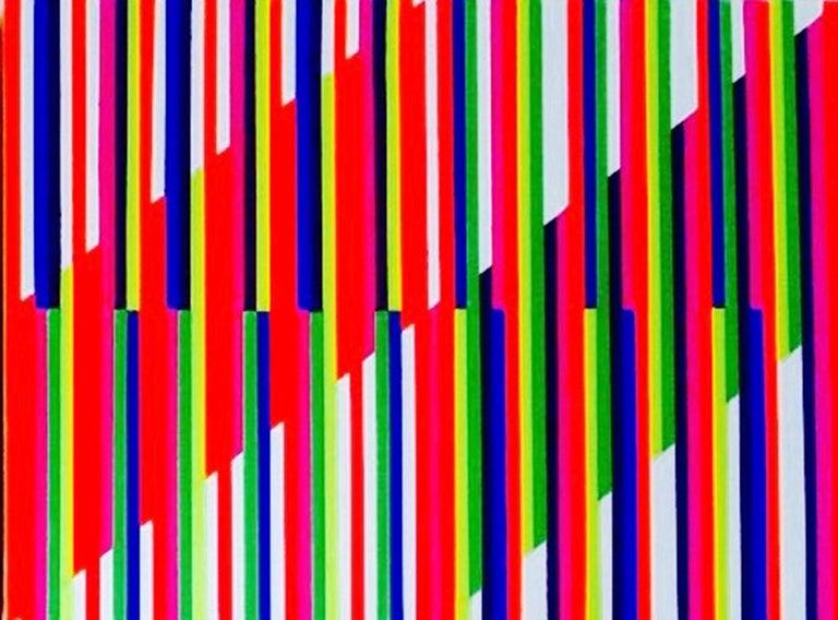 Mexican Geometría Cromática I / Lao Gabrielli / Artist For Sale