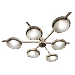Sei Ceiling Light by form A-Nickel Finish