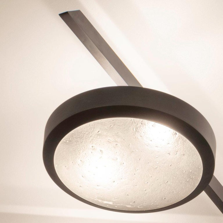 Sei Ceiling Light by form A In New Condition For Sale In New York, NY
