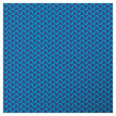 Geometric Blue Panel