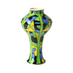 Geometric Boch Freres Vase