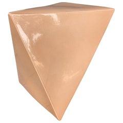 Geometric Ceramic Bench/Side Table