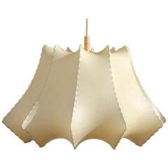 Geometric Coccon Italian Chandelier 1960 Castiglioni Style