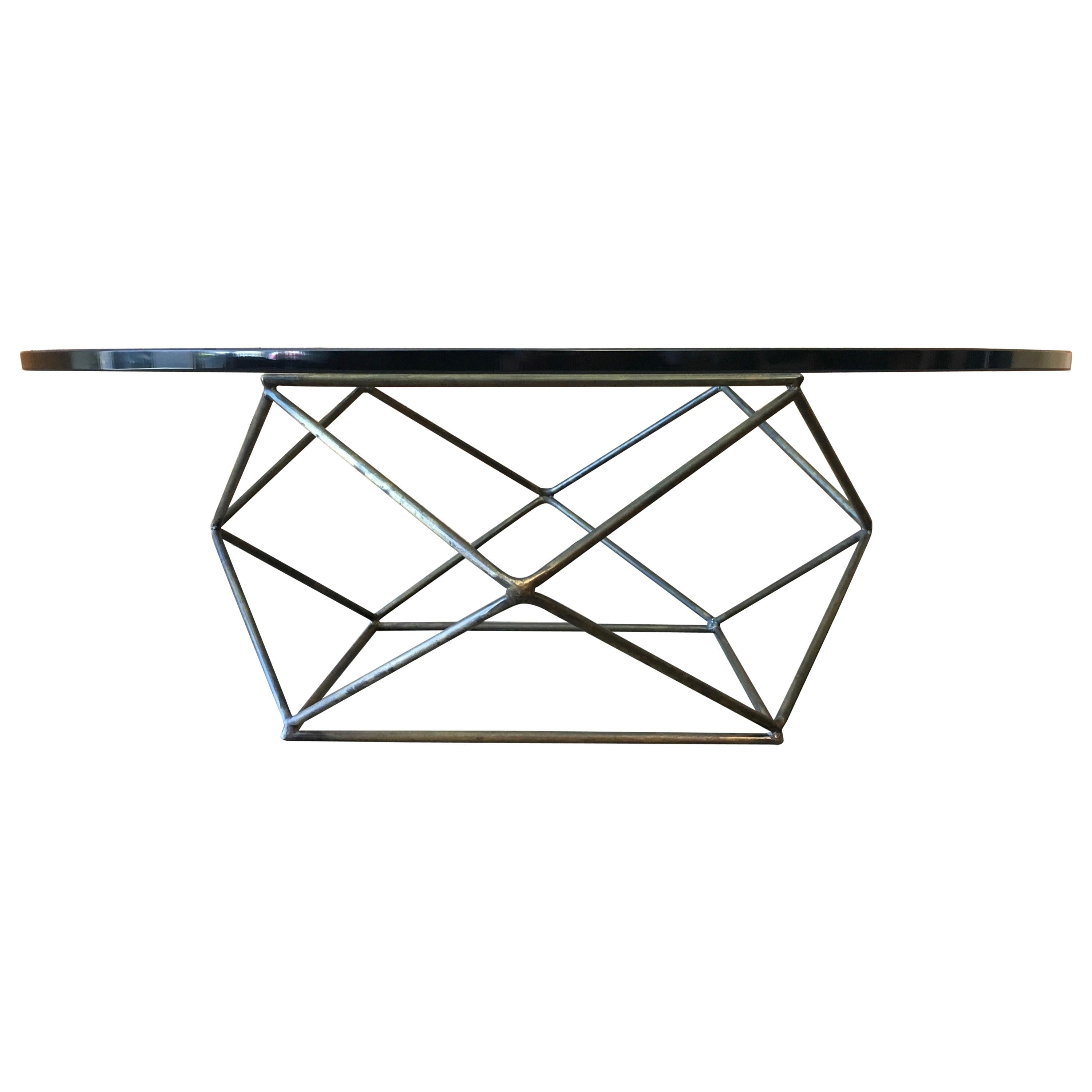 Geometric Coffee Table by Milo Baughman for Directional