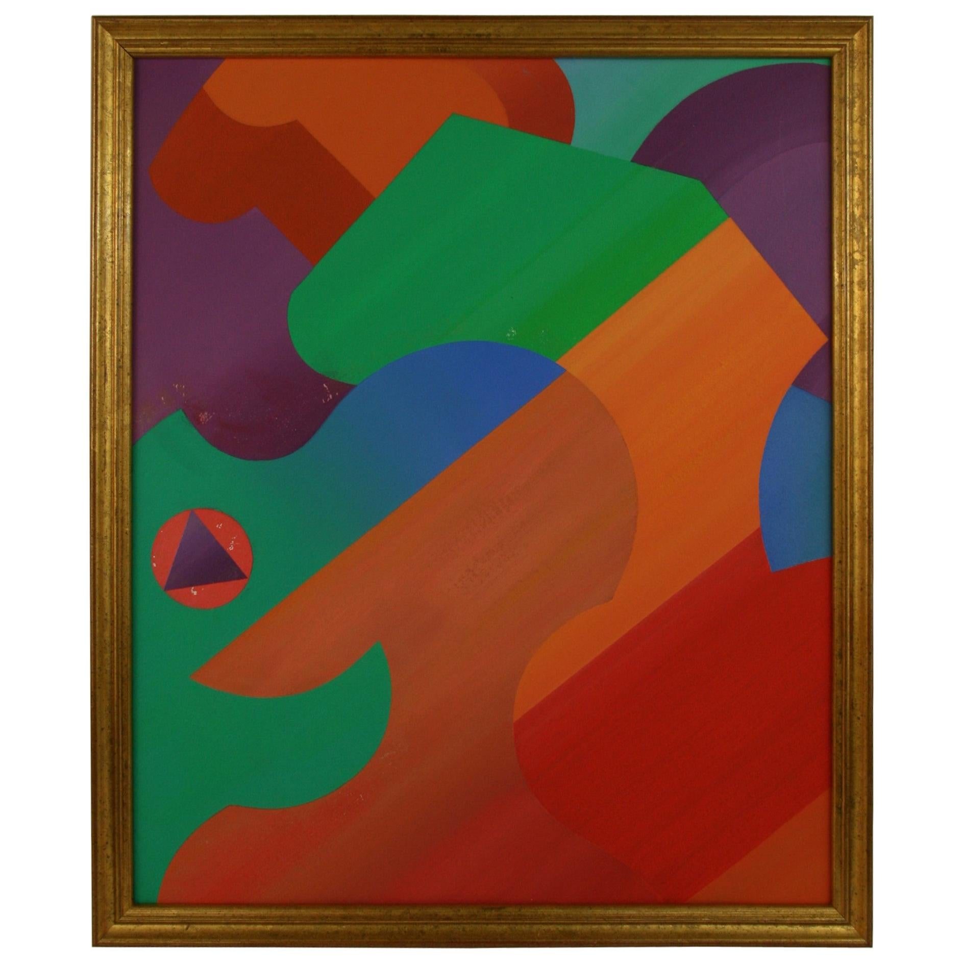 Geometric Female Cubic Abstract