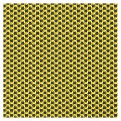Geometric Gold Panel