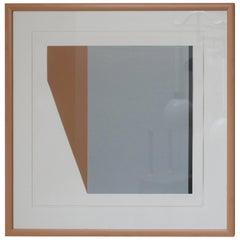 Geometric Late 20th Century Dutch Framed Artwork