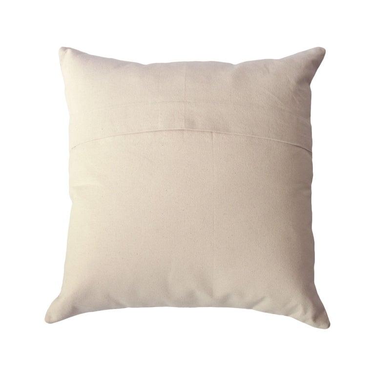Geometric Maya Ochre Modern Throw Pillow Cover For Sale At 1stdibs