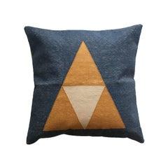 Geometric Maya Up Modern Throw Pillow Cover