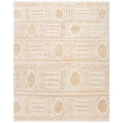 Geometric Modern Moroccan Style Handmade Wool Rug