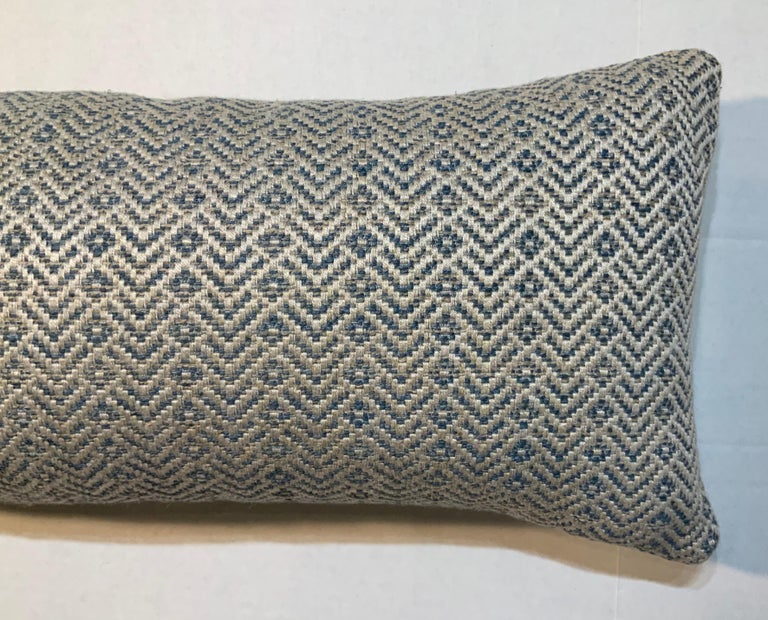 Geometric Motif Pillow In Excellent Condition For Sale In Delray Beach, FL